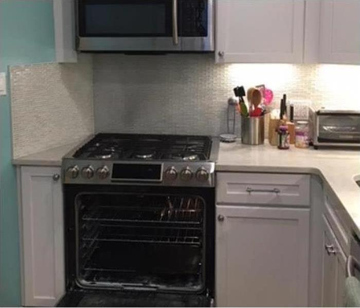 SERVPRO customer kitchen rebuild services