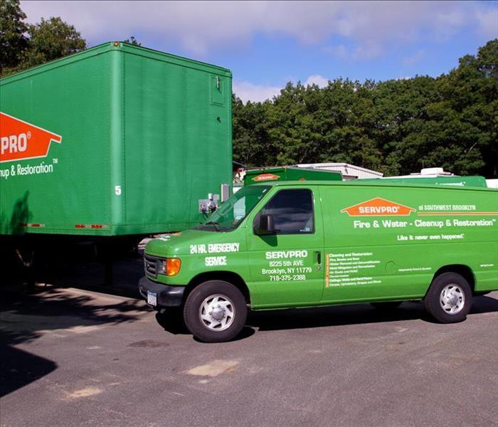 SERVPRO of Southwest Brooklyn Vehicles
